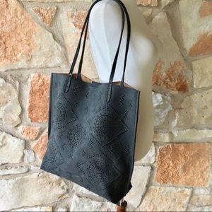 Anthropologie Alice Springs Tote Bag in Black
